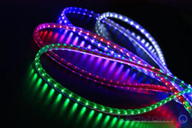 Светодиодные ленты 220В: разновидности, подключение