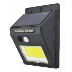 Подсветка для стены COB Lemanso 5W 165LM IP65 6500K с д/движения и солн. батареей / LM33003 + аккумулятор