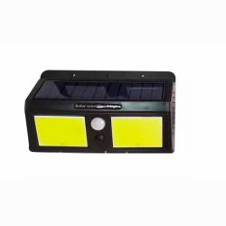 Подсветка для стены COB Lemanso 12W 1200LM IP65 с д/движения и солнечной панелью / LM1113 + аккумулятор