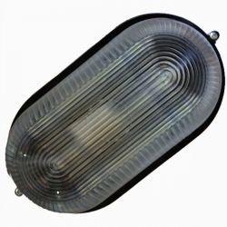 Светильник LED Lemanso 18W овал 170-265V 1440LM IP65 (LM973) чёрный