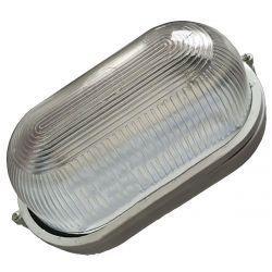 Світильник LED Lemanso 12W овал білий 170-265V 960LM IP65 (LM972)