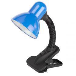 Настольная светодиодная лампа Lemanso на прищепке LMN095 60W синяя