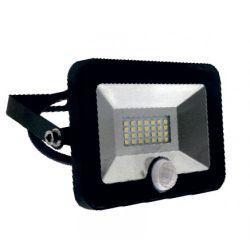 Прожектор LED Lemanso 10w 6500K IP65 800LM со встроенным датчиком чёрный LMPS15
