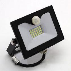 Прожектор LED Lemanso 30w 6500K IP65 1800LM со встроенным датчиком чёрный LMPS36