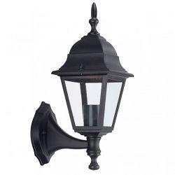Светильник садово-парковый настенный Lemanso PL4101 60 Вт E27 ІР44 черный