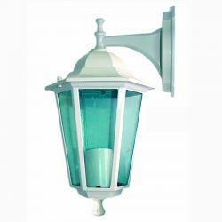 Светильник садово-парковый настенный Lemanso PL6102 60 Вт E27 ІР44 белый