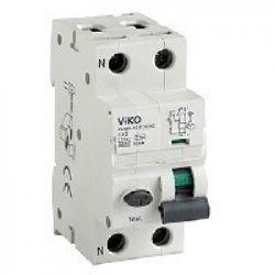 Диф. Автомат  2C (двухполюсный)  32А  30МА АС 6кА  230V Type C магнитный VIKO (6VRBM-2C3230/AC)