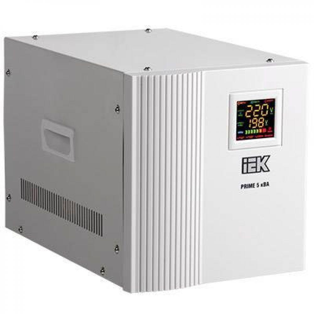 Стабилизатор напряжения IEK Prime 5 кВА