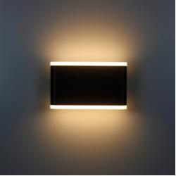 Фасадный светильник 4light 6109 BK LED 8W IP54