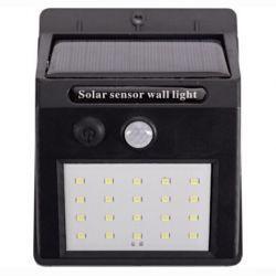 Светильник LED Luxel на солнечных батареях с датчиком движения IP64 10W (SSWL-01C)