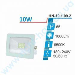 Светодиодный Прожектор RIGHT HAUSEN SOFT LED 10Вт 6500K IP65 белый HN-191092