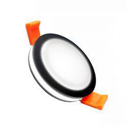 Светильник встраиваемый LED PANEL RIGHT HAUSEN RING 5W 4000K черный HN-2320010