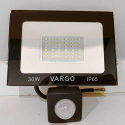 Светодиодный прожектор VARGO 30Вт 220V 6500K с датчиком движения (V-330330)