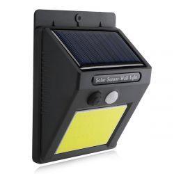 Светильник уличный настенный VARGO на солнечной батарее с датчиком движения 5W COB (VS-102091)