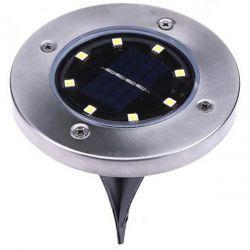 Светильник садовый VARGO на солнечной батарее с датчиком освещенности 1W SMD 12.5см (VS-701328)