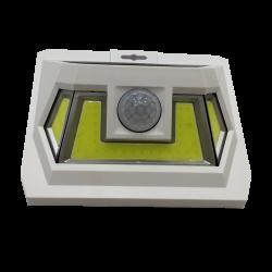 Светильник уличный настенный VARGO на солнечной батарее с датчиком движения 8W COB White (VS-701329)