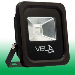 Світлодіодний прожектор VELA LED COLOR 10Вт 220V IP66 515-530nm зелений (120-0404-00003)