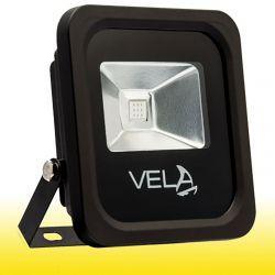Світлодіодний прожектор VELA LED COLOR 10Вт 220V IP66 560-600nm жовтий (120-0404-00005)