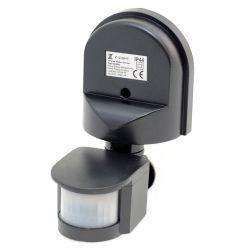 Датчик движения Z-LIGHT 180° IP44 накладной черный ZL8001