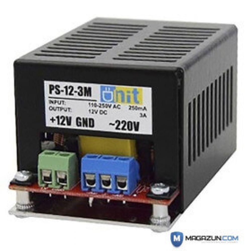 Блок питания Unit PS-12-3-M