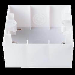 Коробка для наружного монтажа (крем) VIKO (90572009)