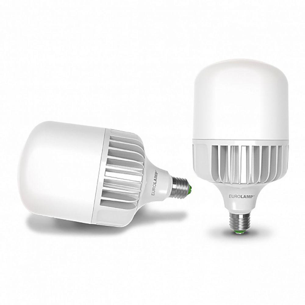 Світлодіодна лампа EUROLAMP надпотужна 50W E40 6500K LED-HP-50406