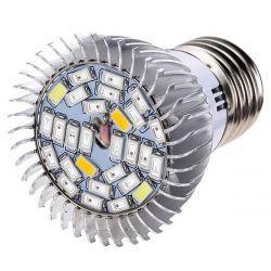 Світлодіодна фітолампи Folium 28W E27 220В 28LED SMD Мультіспектр (FL-003)