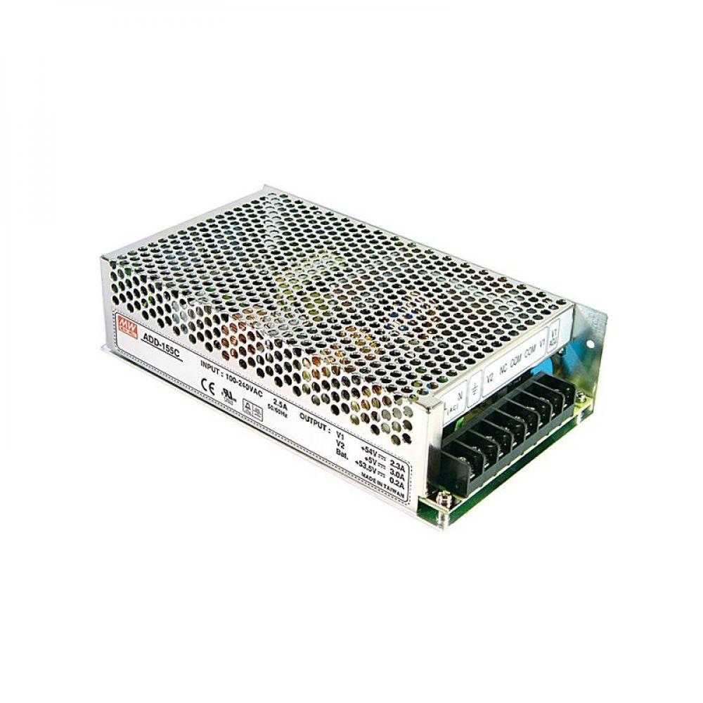 Блок питания Mean Well c функцией UPS 152.75 Вт, 13.8V/10.5 А, 5V/3 А, 13.3V/ 0.5 А ADD-155A