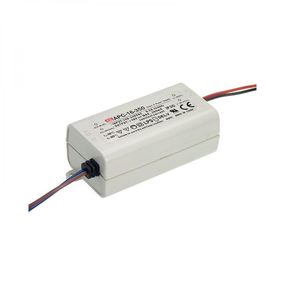 Драйвер Mean Well для светодиодов (LED) 16.8 Вт, 9~24V, 700 мА APC-16-700