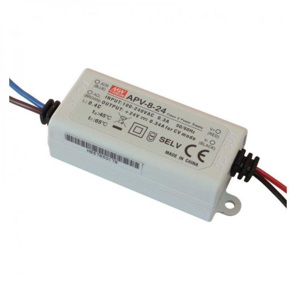 Драйвер Mean Well для светодиодов (LED) 8,04 Вт 12V 0,67 А  APV-8-12