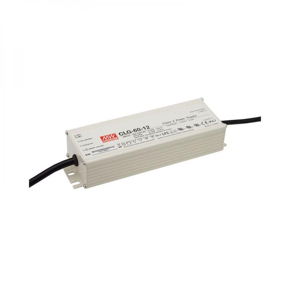 Драйвер Mean Well для светодиодов (LED) 60 Вт, 24V, 2.5 А CLG-60-24