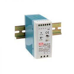 Блок живлення Mean Well На DIN-рейку 40,8 Вт, 24V, 1,7 А DRA-40-24