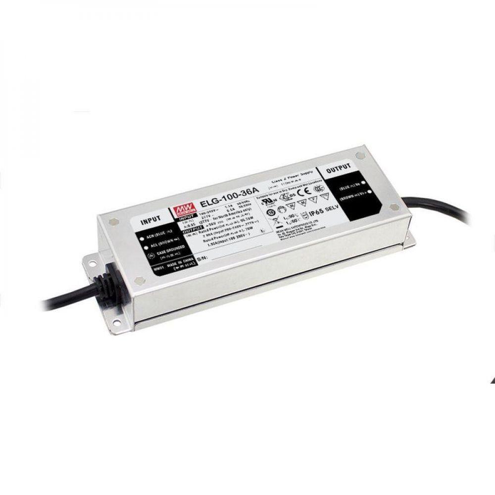 Драйвер Mean Well для светодиодов (LED) 70 Вт 24V 4 А  ELG-100-24DA