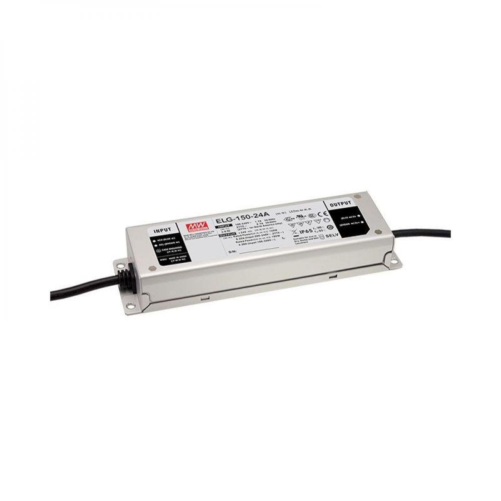 Драйвер Mean Well для светодиодов (LED) 150 Вт 24V 6,25 А  ELG-150-24B