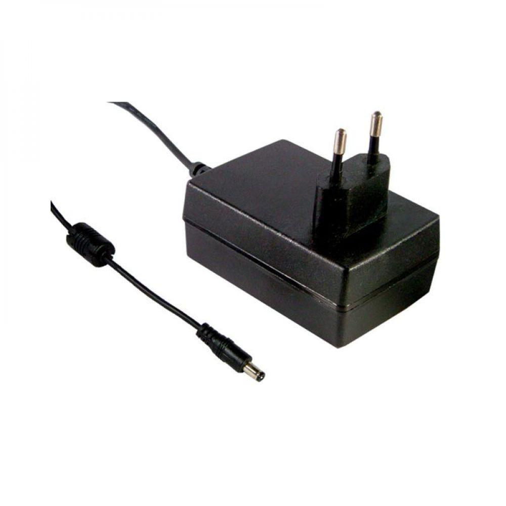 Адаптер питания Mean Well 25 Вт, 24V, 1,04 А разъем 2.1х5.5 мм GS25E24-P1J