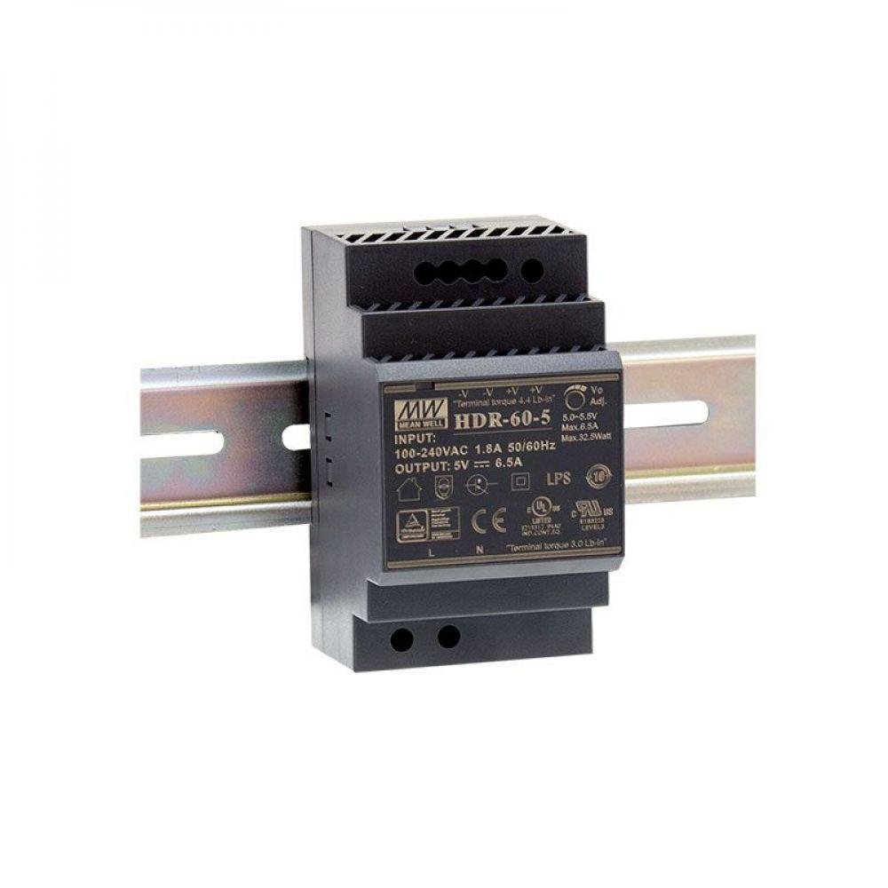 Блок питания Mean Well На DIN-рейку 60 Вт 15V 4 А  HDR-60-15