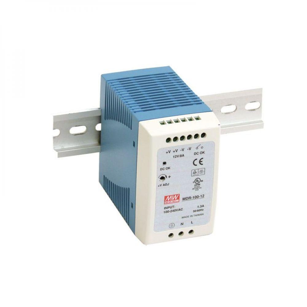 Блок питания Mean Well На DIN-рейку 96 Вт, 24V, 4 А MDR-100-24