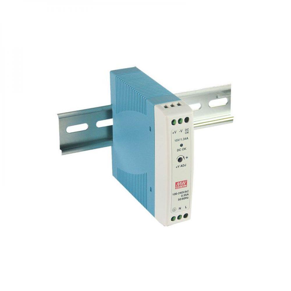 Блок питания Mean Well На DIN-рейку 15 Вт, 5V, 3 А MDR-20-5