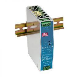 Блок питания Mean Well На DIN-рейку 76.8 Вт, 24V, 3.2 А NDR-75-24