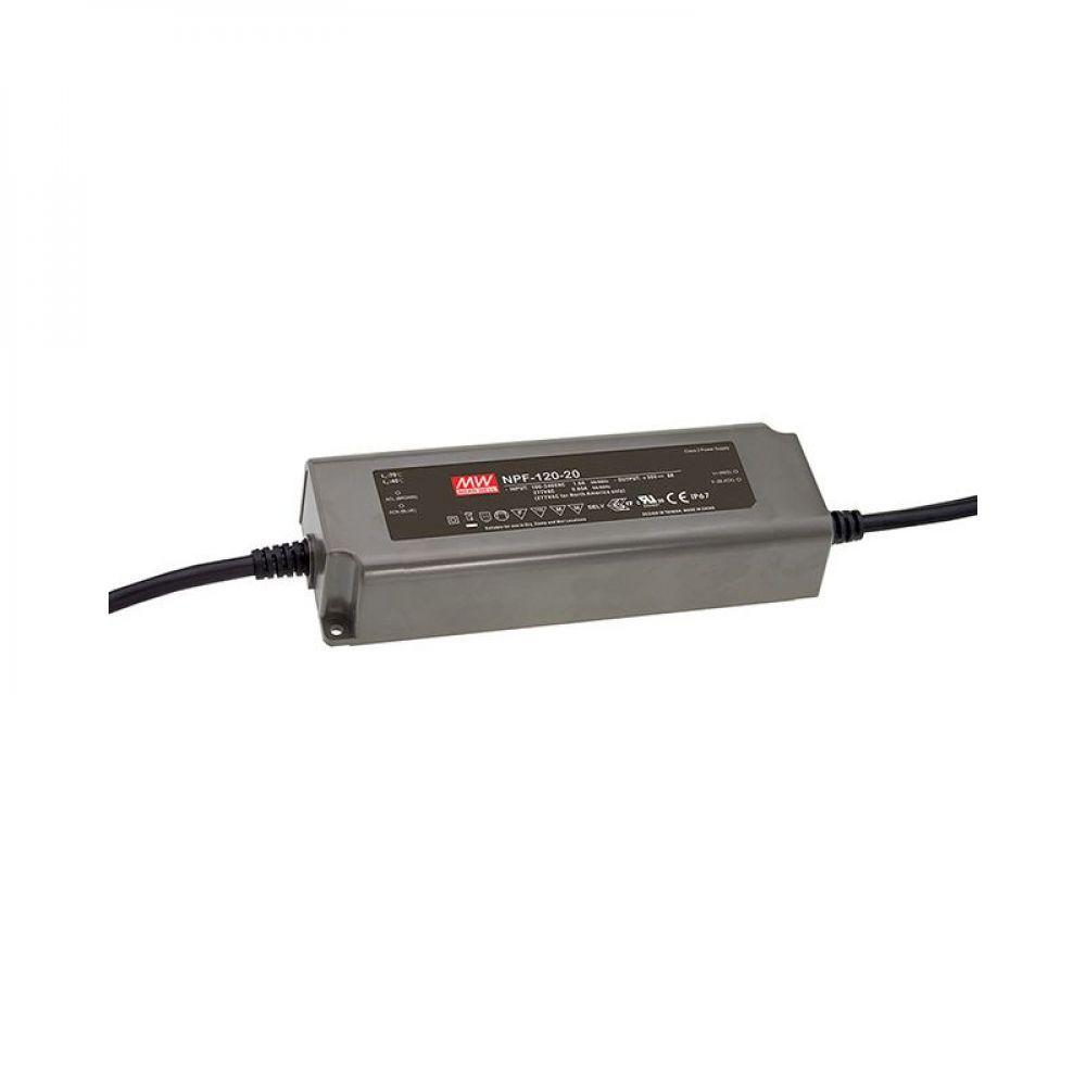 Драйвер Mean Well для светодиодов (LED) 120 Вт 48V 2,5 А NPF-120-48