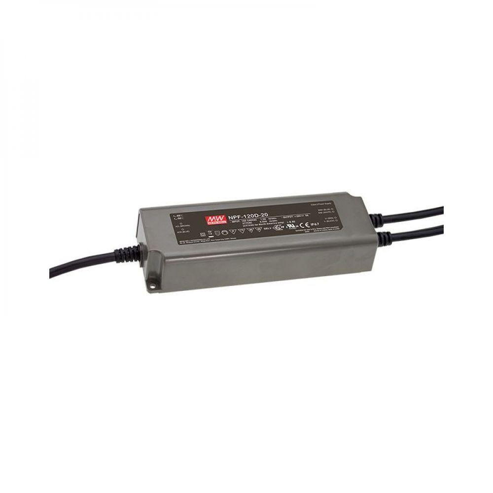 Драйвер Mean Well для светодиодов (LED) 120 Вт 48V 2,5 А NPF-120D-48