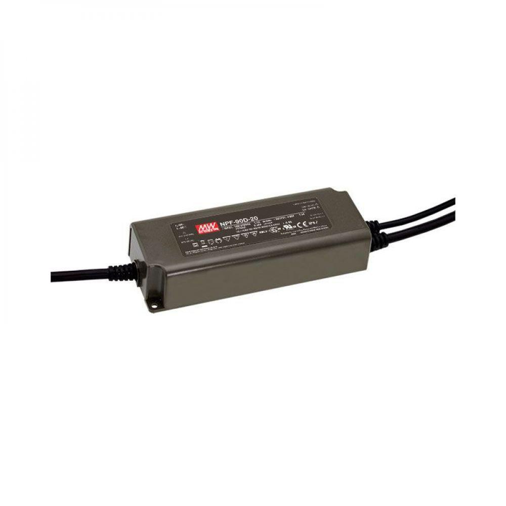 Драйвер Mean Well для светодиодов (LED) 90,3 Вт 42V 2,15 А NPF-90D-42