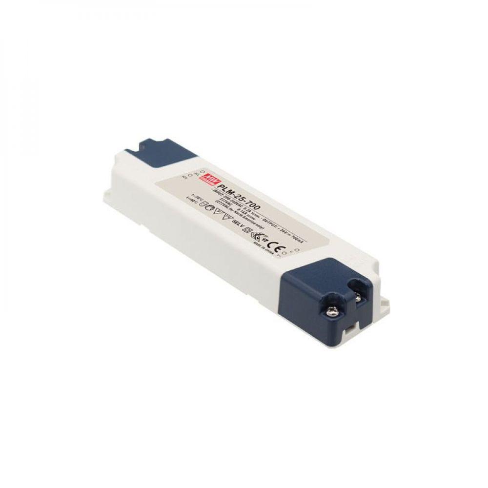 Драйвер Mean Well для светодиодов (LED) 25.2 Вт, 42~72V, 0.35 А PLM-25-350