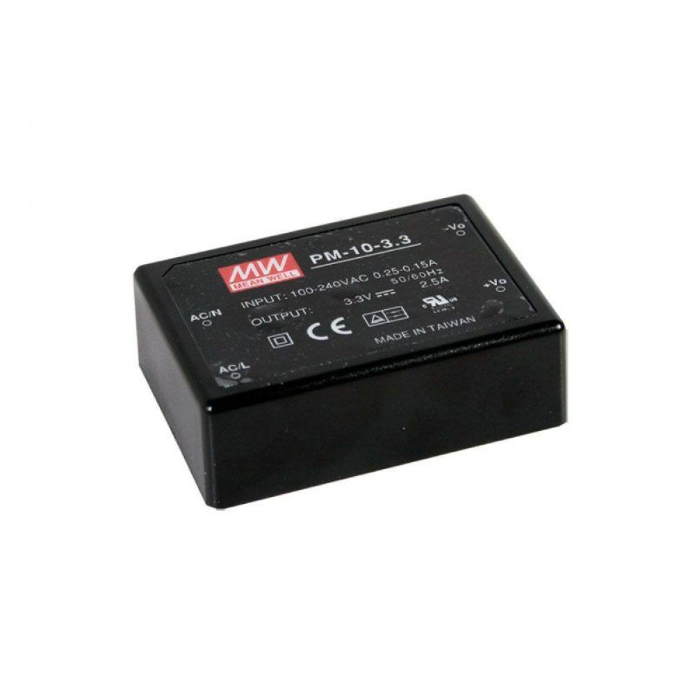 Блок питания Mean Well На плату 10.05 Вт, 15V, 0.67 А PM-10-15