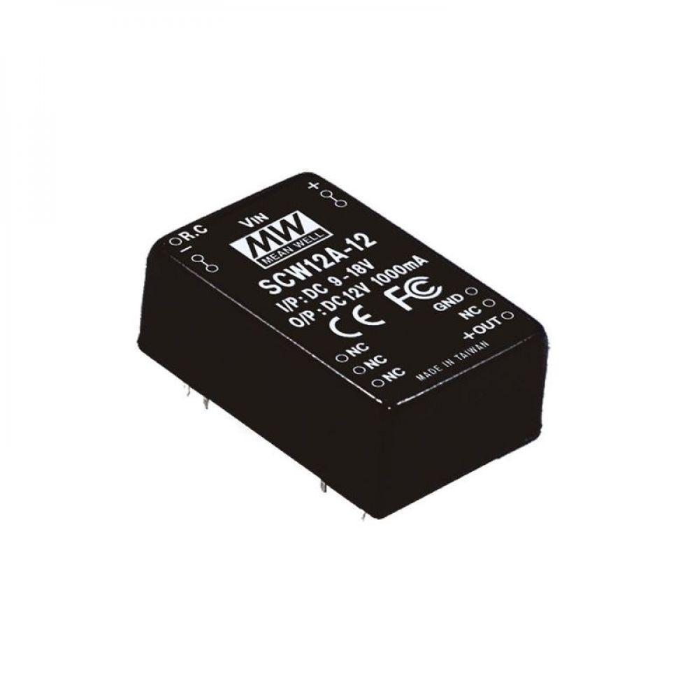 Блок питания Mean Well На плату 12 Вт, 12V, 0.1 А SCW12C-12