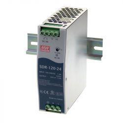 Блок питания Mean Well На DIN-рейку 120 Вт, 24V, 5 А SDR-120-24