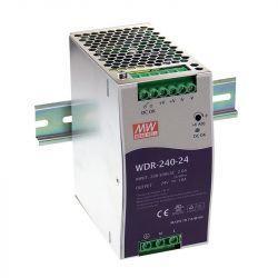 Блок питания Mean Well На DIN-рейку 240 Вт, 24V, 10 А WDR-240-24