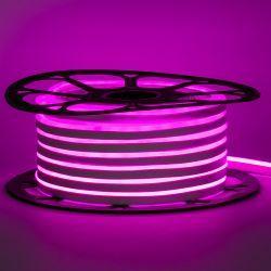 Светодиодный неон Venom SMD 2835 120д.м. (IP67) 220V (VPN-2835120220-P) Розовый