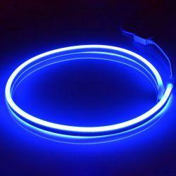 Світлодіодний неон SMD 2835 120д.м. (IP67) 220V (VPN-2835120220-B) синій