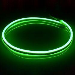 Світлодіодний неон SMD 2835 120д.м. (IP67) 220V (VPN-2835120220-G) зелений